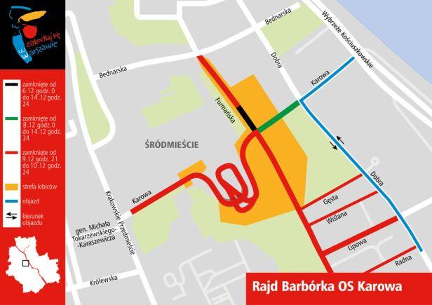 W sobotę Rajd Barbórka UM Warszawa