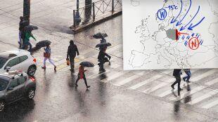 """Do Polski zmierza """"centrum deszczowej pogody"""""""