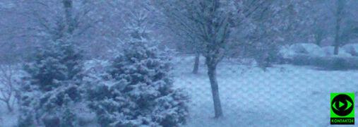 Zima zaczęła sięna całego. Zobacz gdzie spadło najwięcej śniegu