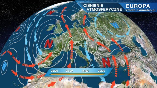 Nad wschodnie regiony napływa zimne powietrze