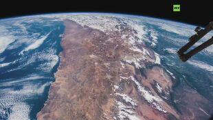 Ameryka Południowa z kosmosu. Nie każdy może widzieć ją w ten sposób