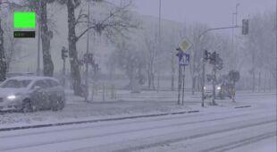 Śnieg w Toruniu