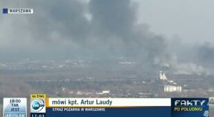 Wypalanie traw zagraża niewielkiemu lasowi w Warszawie (TVN24)